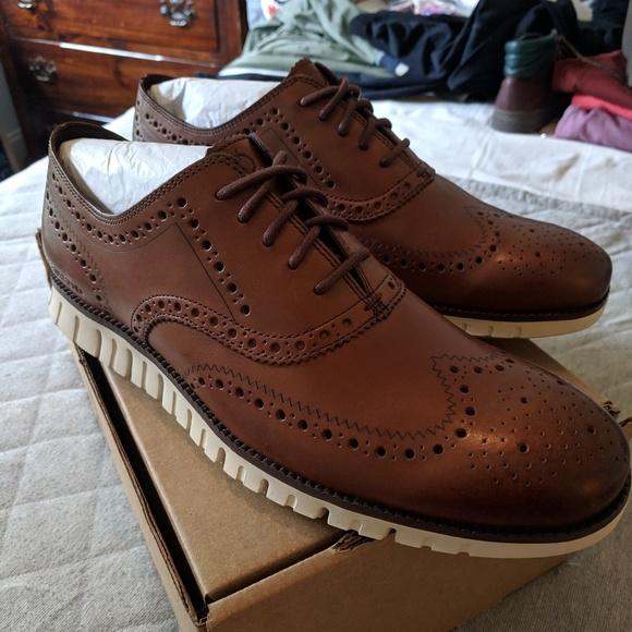 207ac7a30f4 Cole Haan Shoes | Zerogrand Wingtip Oxford 115 | Poshmark